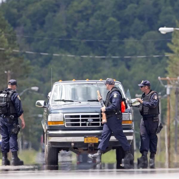 New York State Police in Dannemora