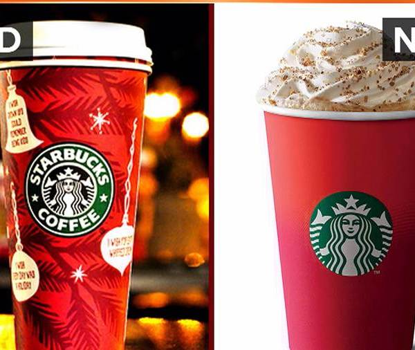 Starbucks New Holiday Cup