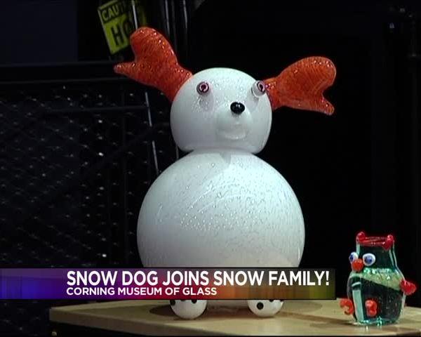 Glass Snow Dog at CMOG_20160203233030