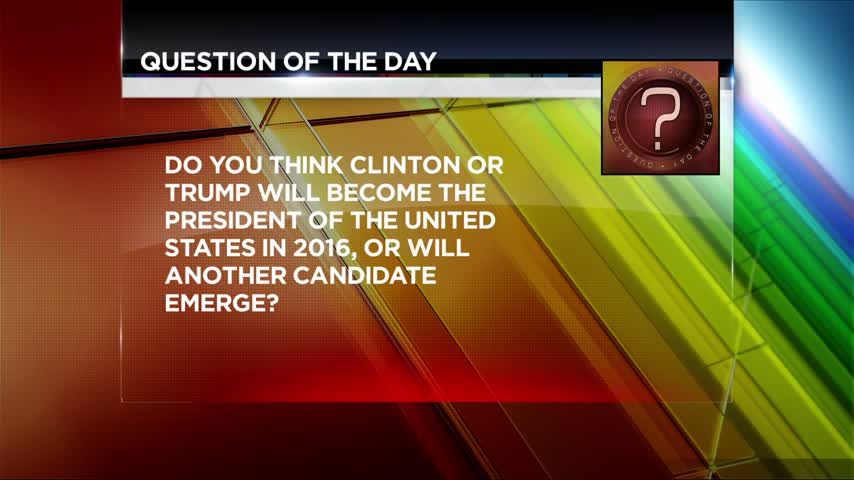Question Of The Day- Clinton And Trump_85904516-159532
