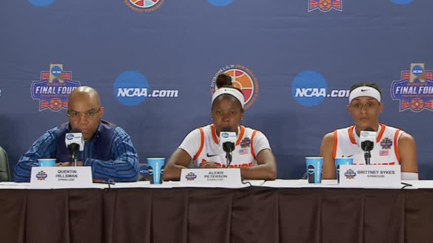 RAW VIDEO- SU Women-s basketball Final Four presser_12903323-159532-118809342
