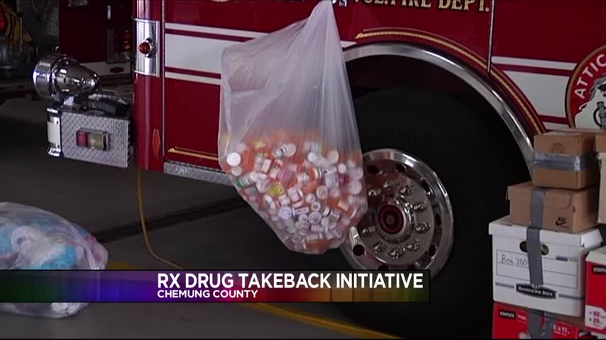 Prescription Drug Take-Back A Success in Chemung County_14960281-159532