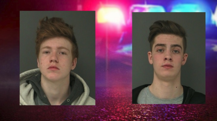 Teens sentenced for arson and criminal mischief