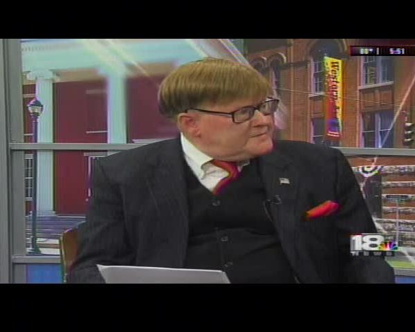 Dr Coleman Stops by 18 News to Discuss Week in Poltiics_98780461-159532
