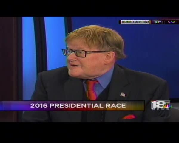 Dr Coleman stops by 18 news to discuss Trump and Poltiics_61878338-159532