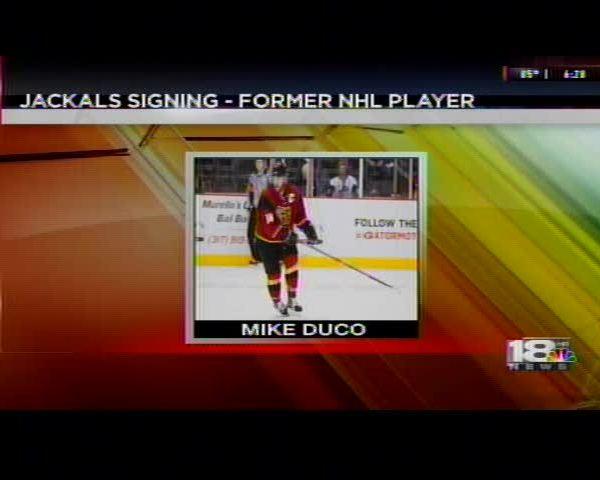 Elmira Jackals Sign Former NHL Talent Mike Duco_21041896-159532