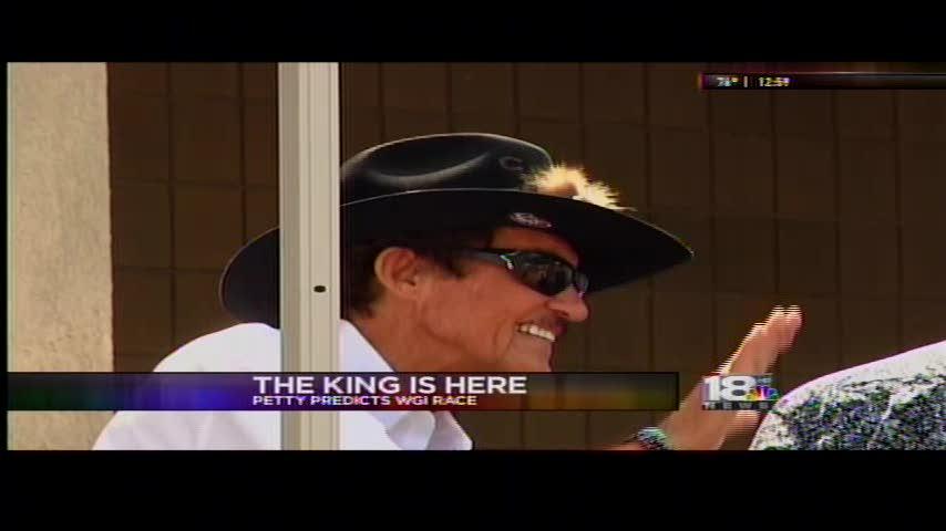 -The King- Richard Petty Predicts Cheez-it 355 Winner_20288184-159532