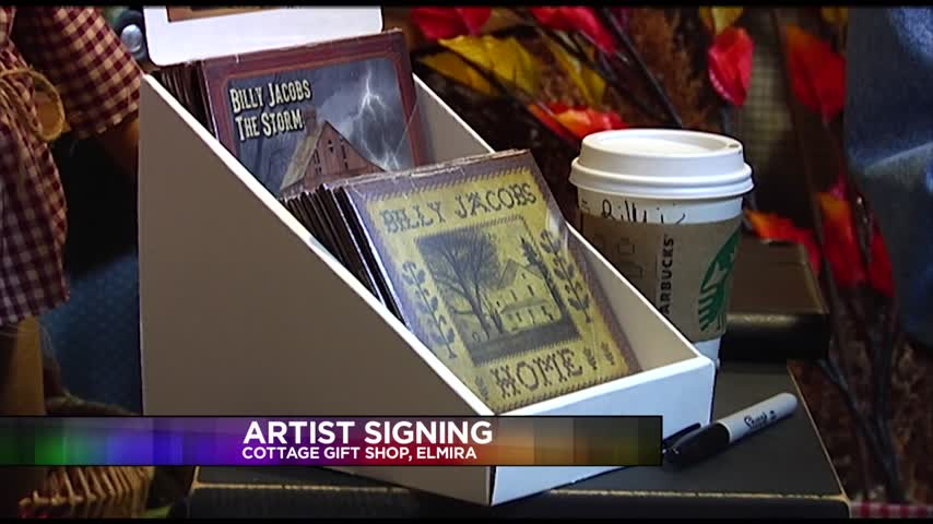 Artist Meets With Fans at Local Shop_19170454-159532