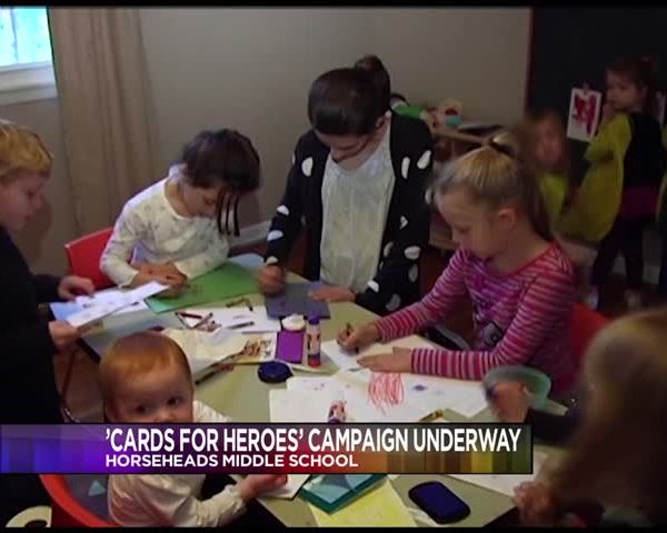 Cards for Heroes Campaign Kicks Off in Horseheads Wednesday_56973746-159532