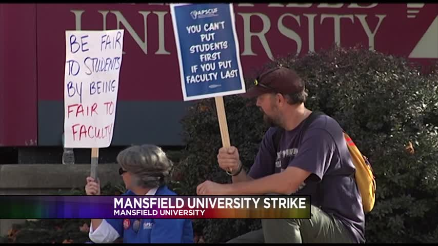 Mansfield University Teachers and Faculty are on Strike_72211724-159532