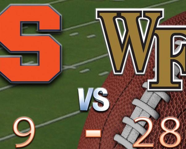 SU vs Wake Forest scoreboard-118809342