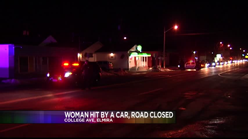 Pedestrain Hit By Car in Elmira Friday Night_13189626