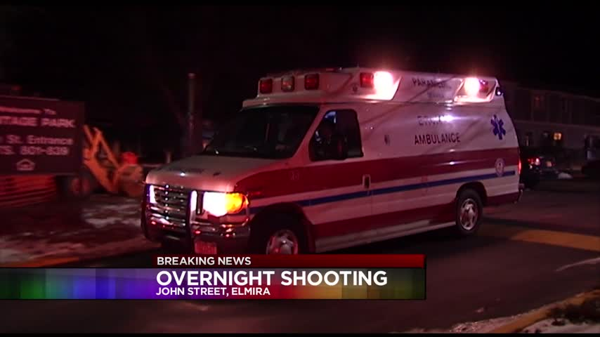 Police On The Scene Of Overnight Shooting In Elmira_54221132