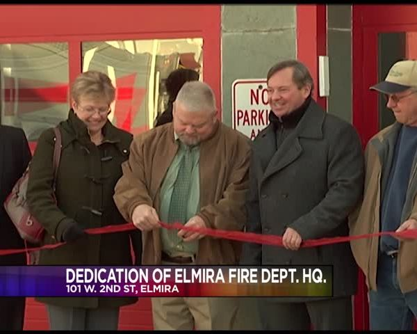 Dedication of Elmira Fire Department Headquarters_92927426