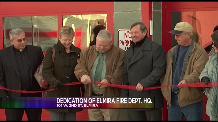 Dedication of Elmira Fire Department Headquarters_92927426