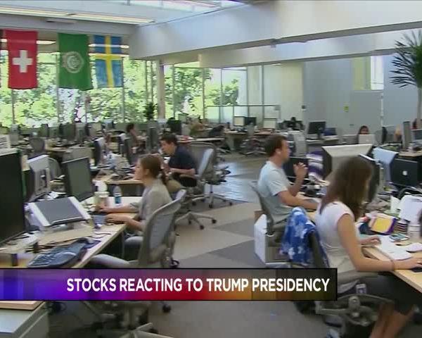 Stock Market Reacts to Future Donald Trump Presidency_82419264
