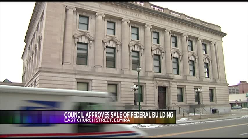 Elmira City Council Approves Sale of Federal Building_02070790
