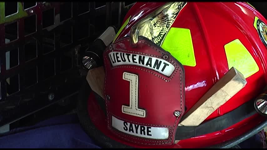 Sayre Fire Lieutenant to Appear on -Chicago Fire-_83228759