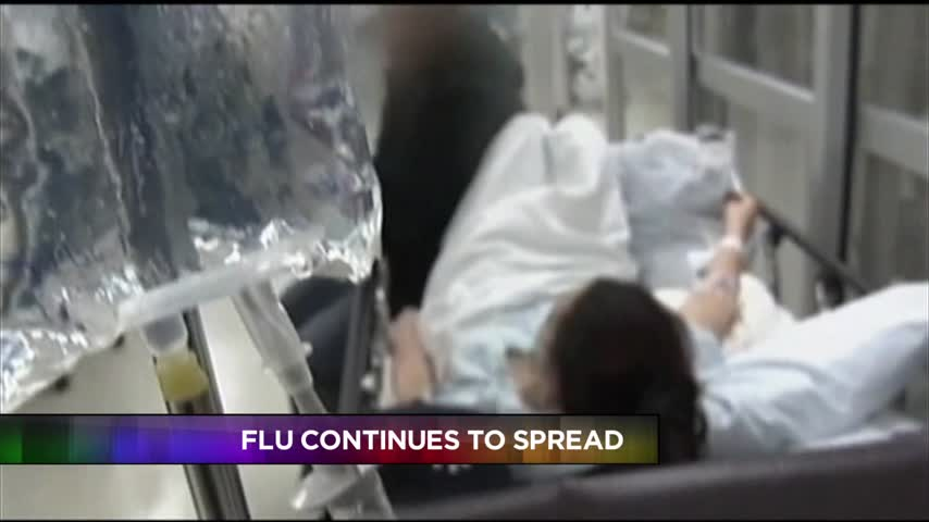 The Flu Continues to Spread_71931823
