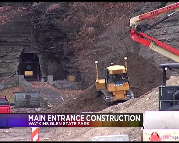 Update on Watkins Glen State Park Construction