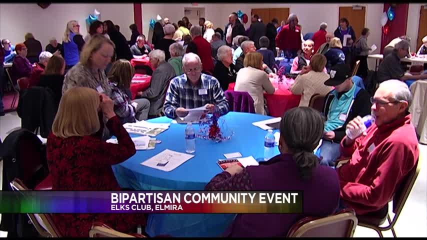 Bipartisan Meeting in Elmira_72890710