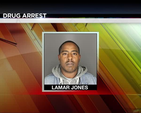 Elmira Man Arrested on Drug Charges_26072916