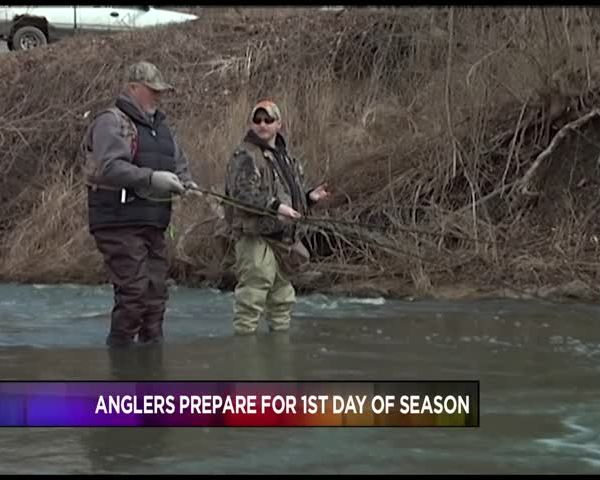 Anglers Prepare for First Day of Season