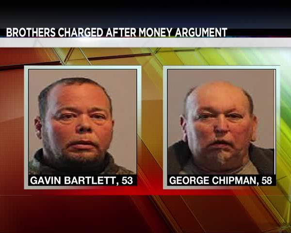 Brothers Charged After Money Argument