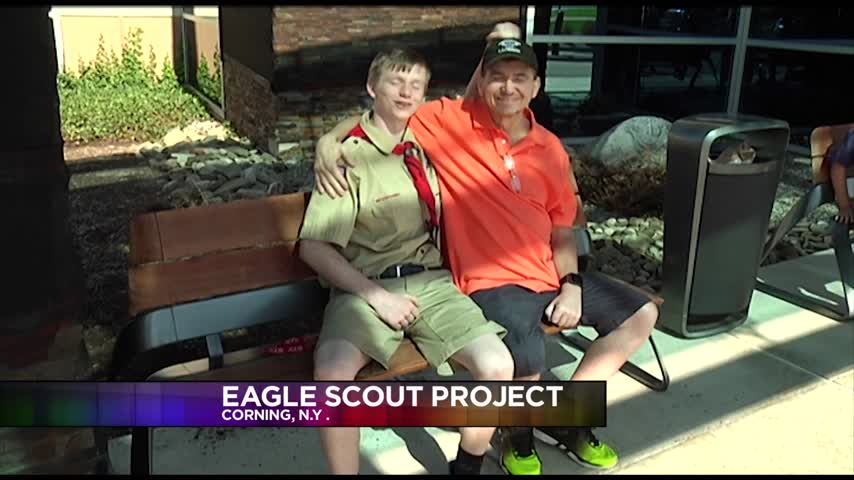 Eagle Scout Prospect Honors Father With Cancer_86086766