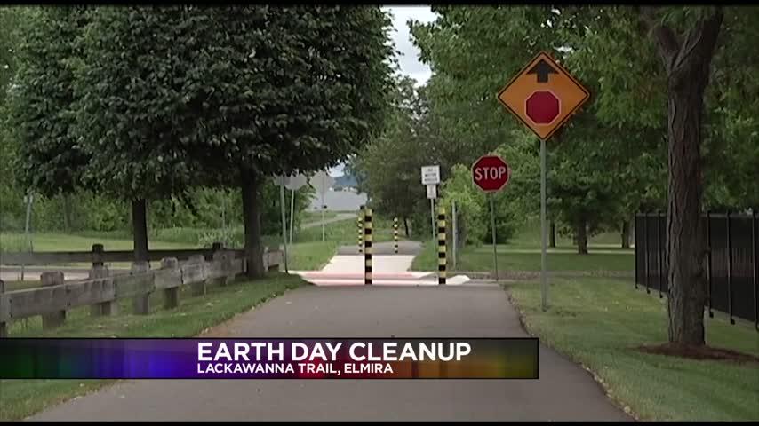 Earth Day Cleanup on Lackawanna Rail Trail_89017114