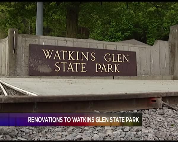 Update on Renovations to Watkins Glen State Park