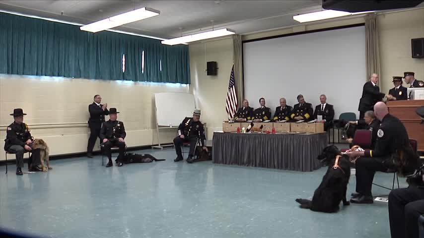 6 Dogs Become Arson K-9s in Montour Falls_66388043