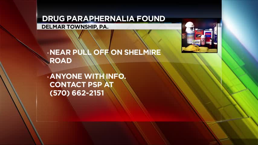 Drug Paraphernalia Found in Delmar Township_86882442