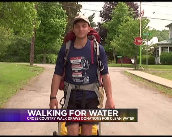 Man Walking to Ca- to Raise Awareness About Water Scarcity_16568293