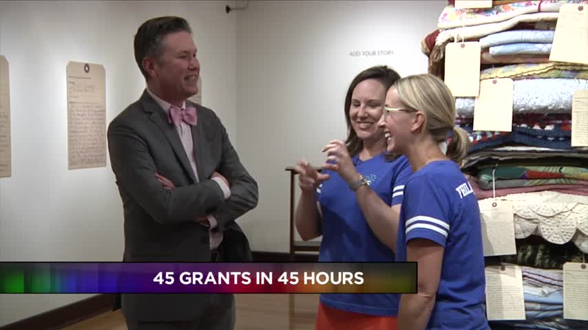 Community Foundation giving 45 grants in 45 hours_77295570