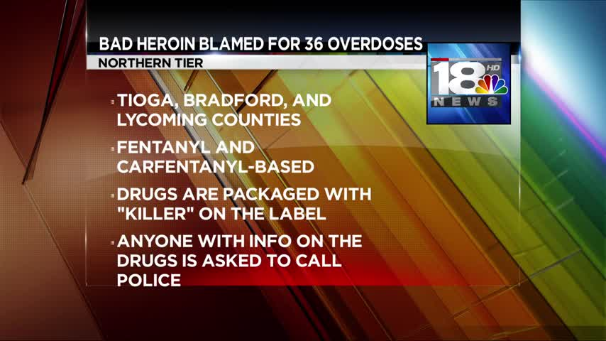 PA officials warning about a deadly batch of heroin_29950282