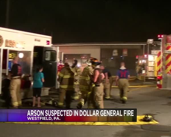 Arson suspected in PA Dollar General Fire_25975874