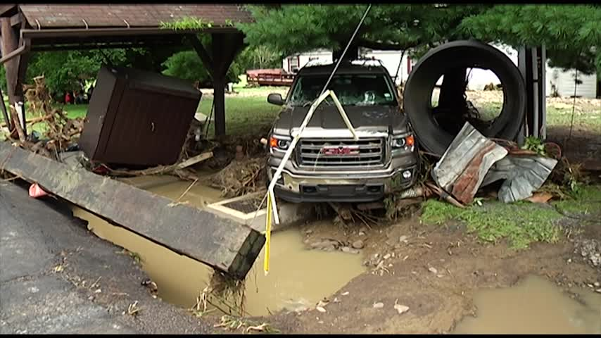 Homes in Windham Center Destroyed by Floodwaters_82642136