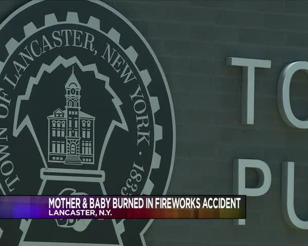 Mother- 6-month-old hospitalized after fireworks malfunction_48421502