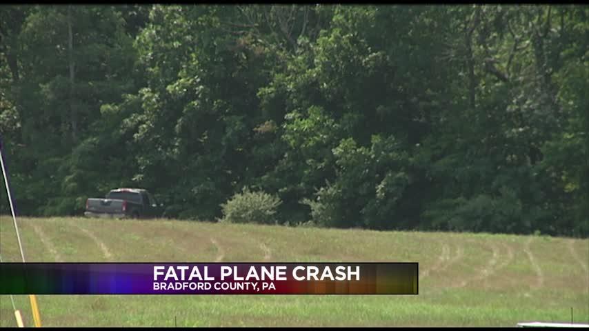 Small Plane Crash in Bradford County- Officials Investigatin_06246695