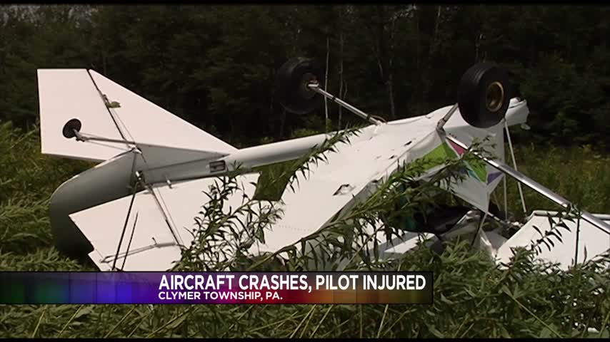 Small plane crash in Clymer Township PA_48659738