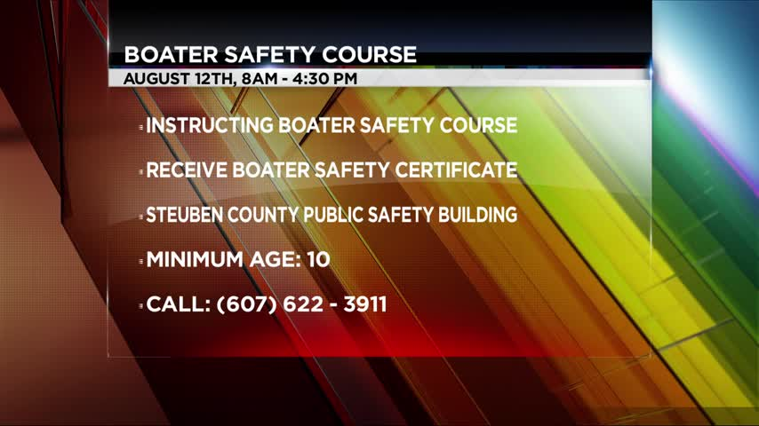 Steuben County Sheriff-s Office to hold Boater Safety Course_13701466