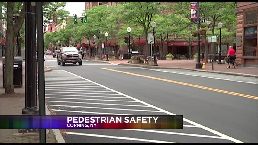 Corning to launch pedestrian safety campaign_75642200