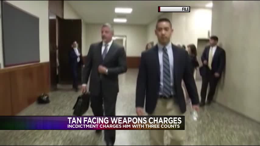 Charles Tan facing weapons charges_09662213
