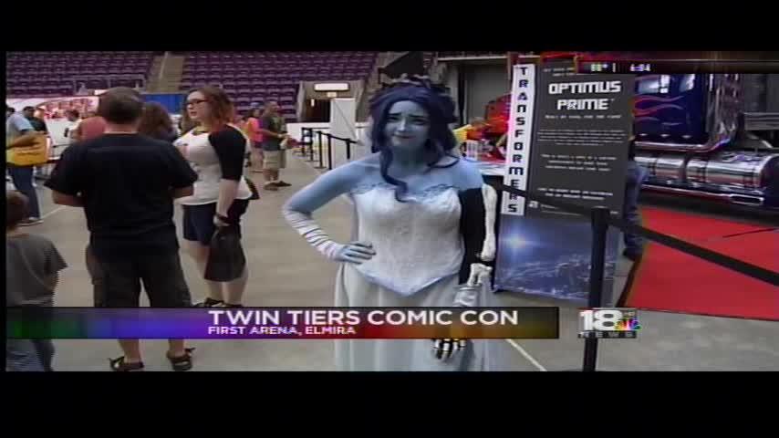 Fourth Annual Twin Tiers Comic Con kicks off in Elmira_91875366