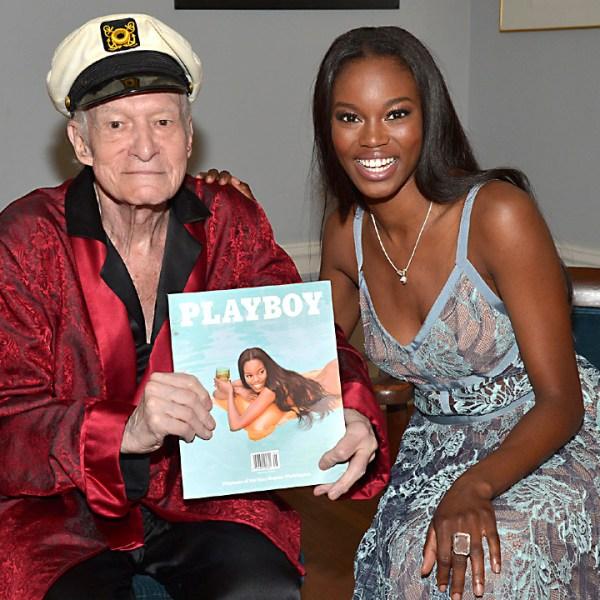 Hugh Hefner: Twins Moving Out of Playboy Mansion! - Us Weekly |Hugh Hefner Twin Girlfriends