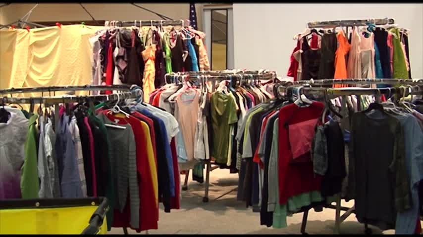Horseheads High School holds Raider Remix Clothing Drive_17213500