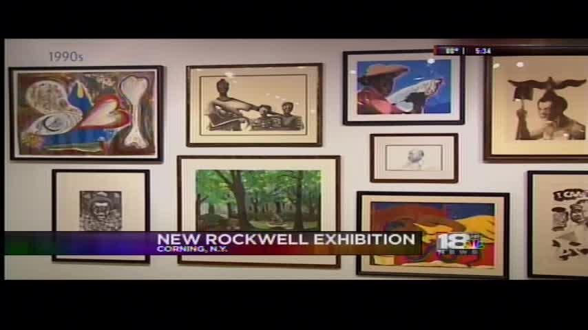 Rockwell unveils newest exhibition of African American art_82108111
