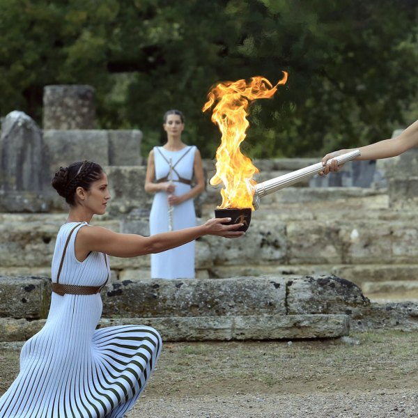 2018 Olympic flame lighting ceremony44945521-159532