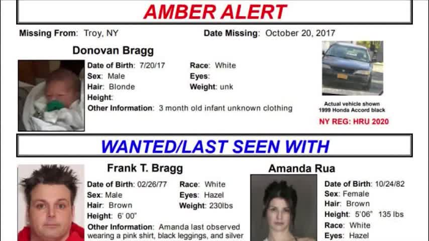 Amber Alert system leads to safe recovery of baby in Troy NY_65678494